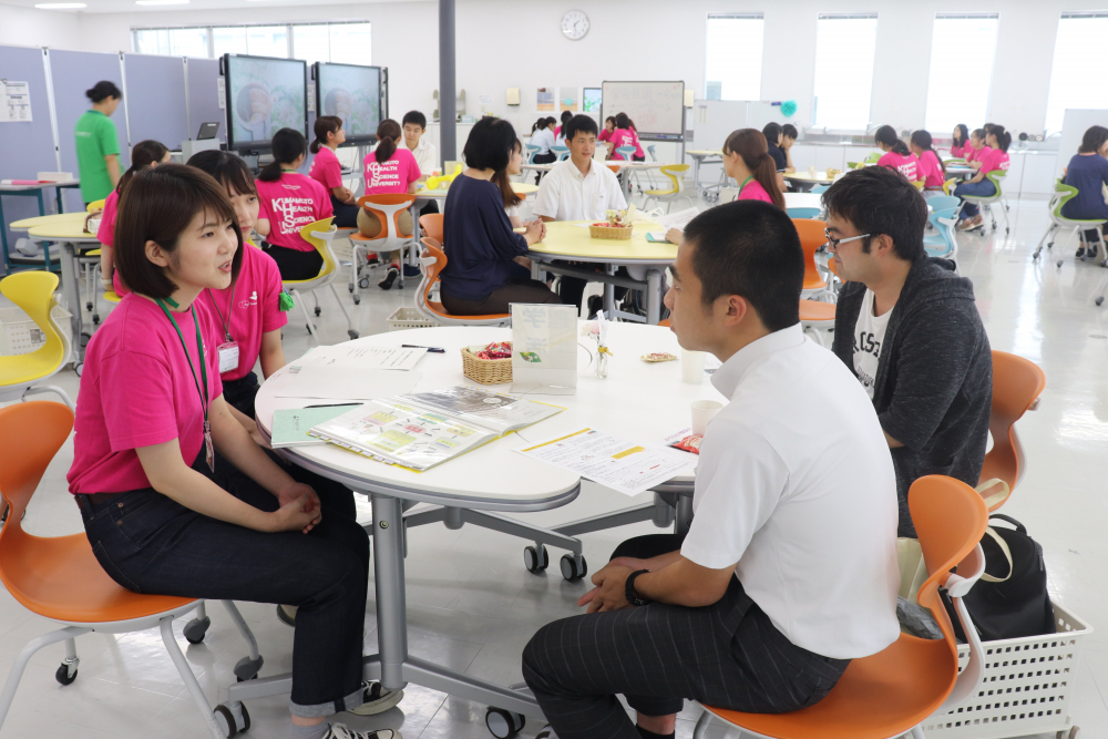 令和元年度第1回オープンキャンパスへのご参加ありがとうございました 大学のお知らせ 熊本保健科学大学